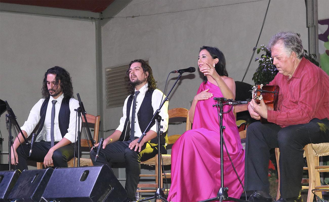 Laura Vital. 45ª Cata Flamenca de Montilla. Centro de Interpretación Envidarte, Montilla (Córdoba). 31 agosto 2019. Foto: Ayuntamiento de Montilla