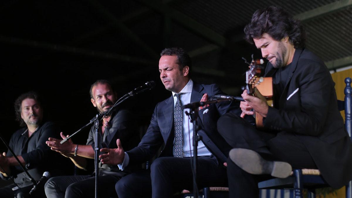 Jesús Méndez. 39º Festival de Cante Grande de El Viso del Alcor. Foto: Andrés Jim