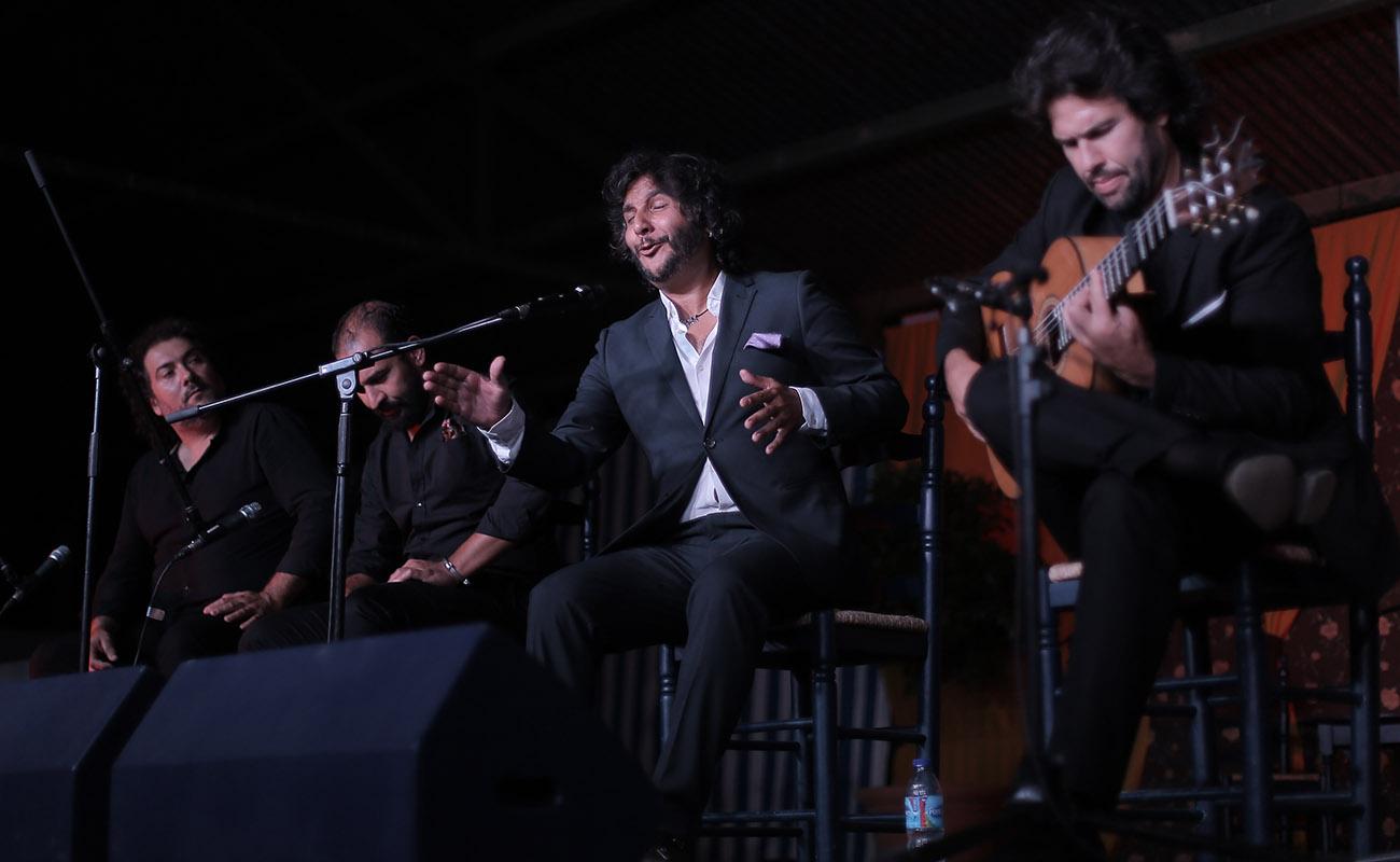 Antonio Reyes. 39º Festival de Cante Grande de El Viso del Alcor. Foto: Andrés Jim