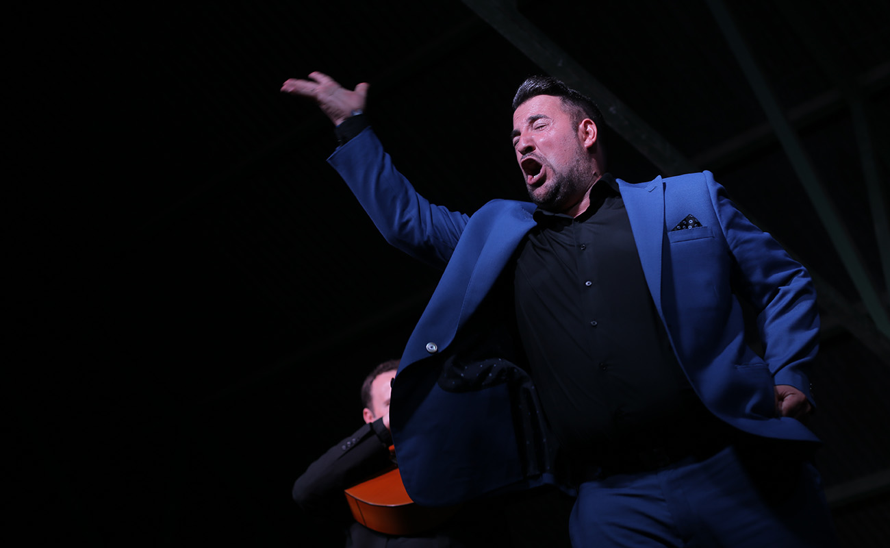 Rubito Hijo. 39º Festival de Cante Grande de El Viso del Alcor. Foto: Andrés Jim