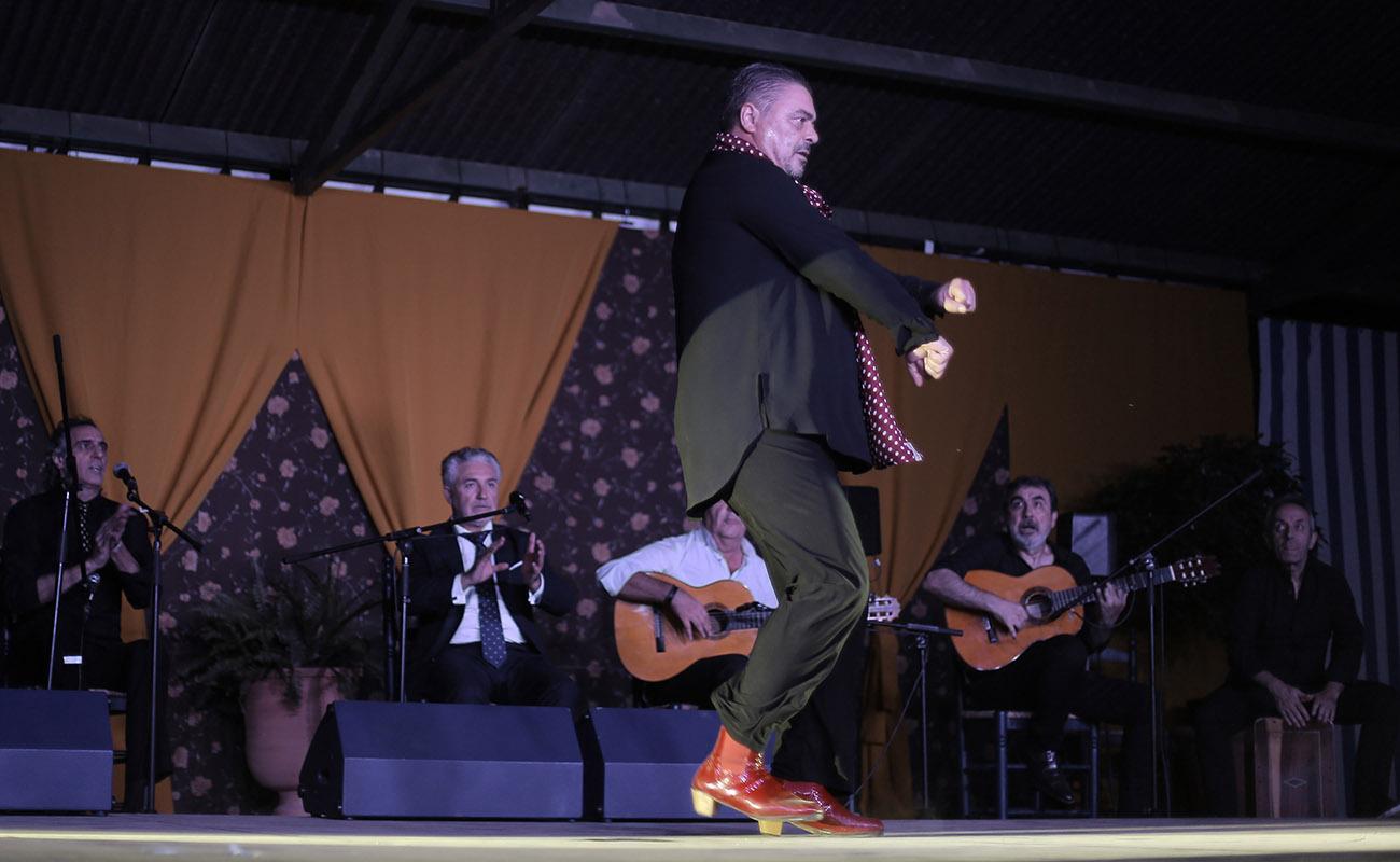 Antonio Canales. 39º Festival de Cante Grande de El Viso del Alcor. Foto: Andrés Jim