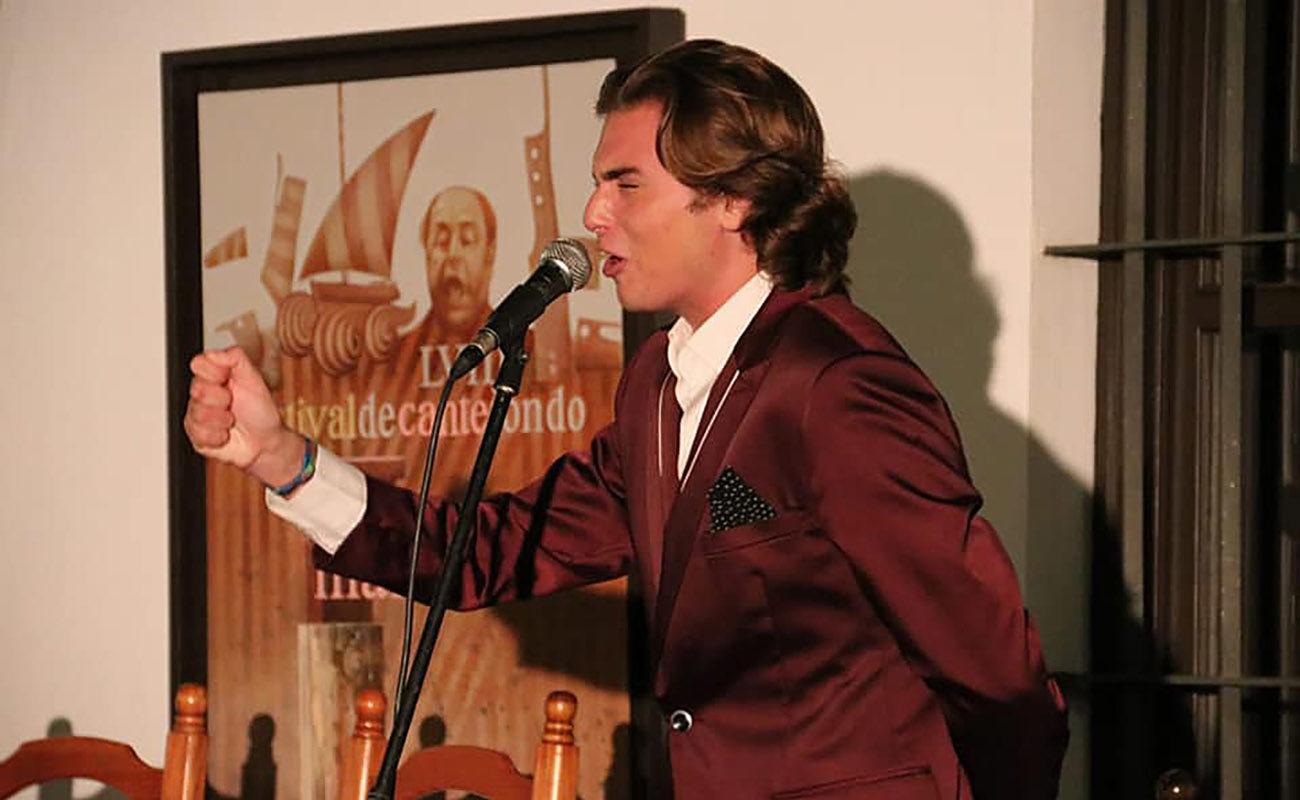 El cantaor Manuel de la Tomasa. 58º Festival de Cante Jondo Antonio Mairena 2019. Foto: Festival de Cante Jondo
