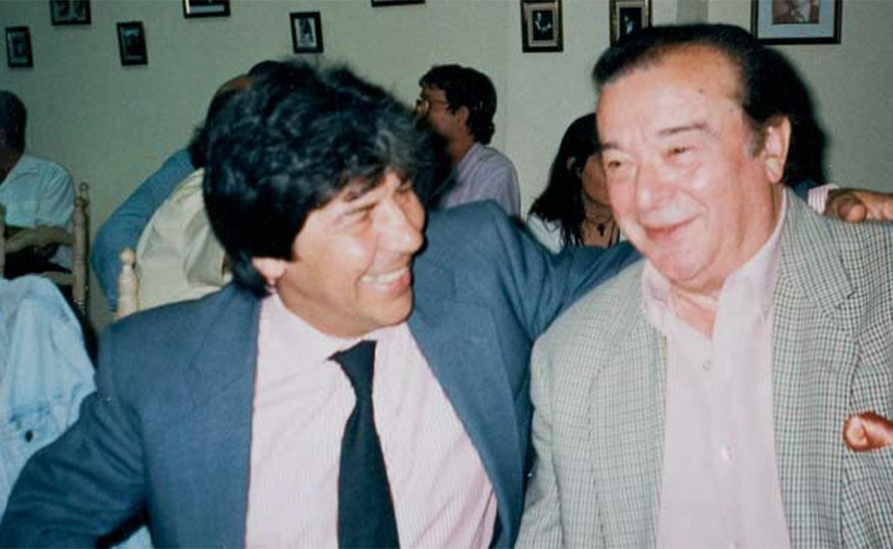 Rancapino y Antonio Arenas. Foto: archivo particular de Antonio Arenas.