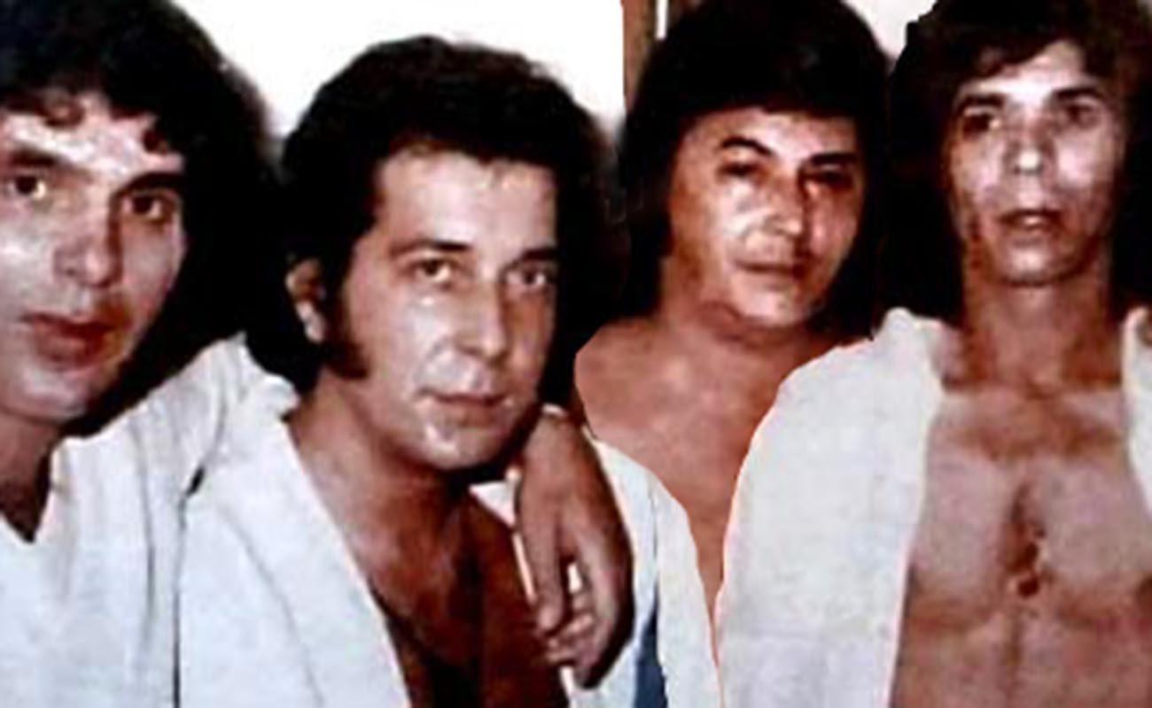 Turronero, Juan Villar, Pansequito y Camarón. Foto: Peña Juan Villar