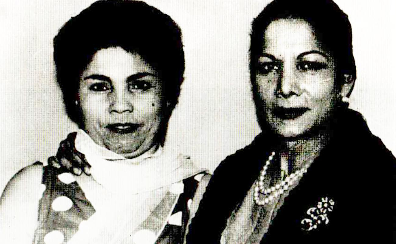 Bernarda de Utrera y Carmen Amaya. Foto: Cantes inéditos