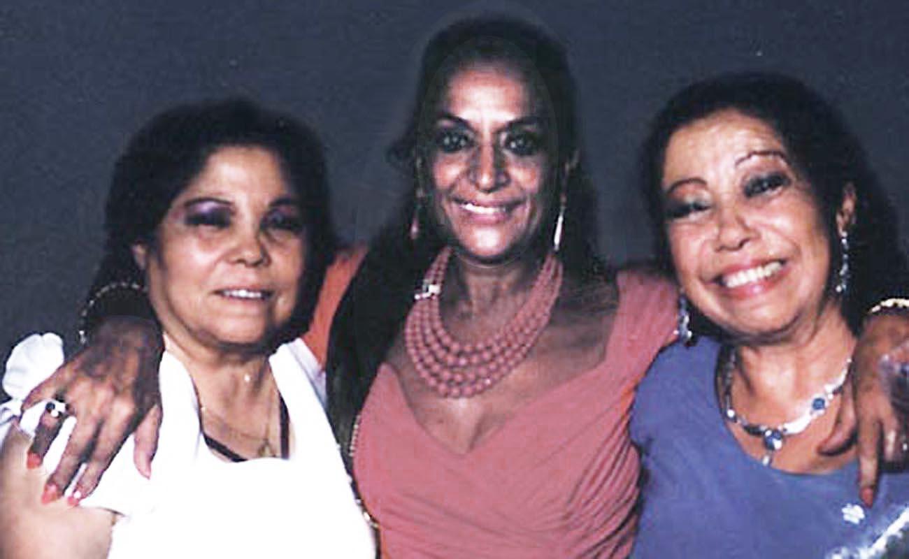 Bernarda de Utrera, Lola Flores y Fernanda de Utrera. Foto: Fernando Montoro