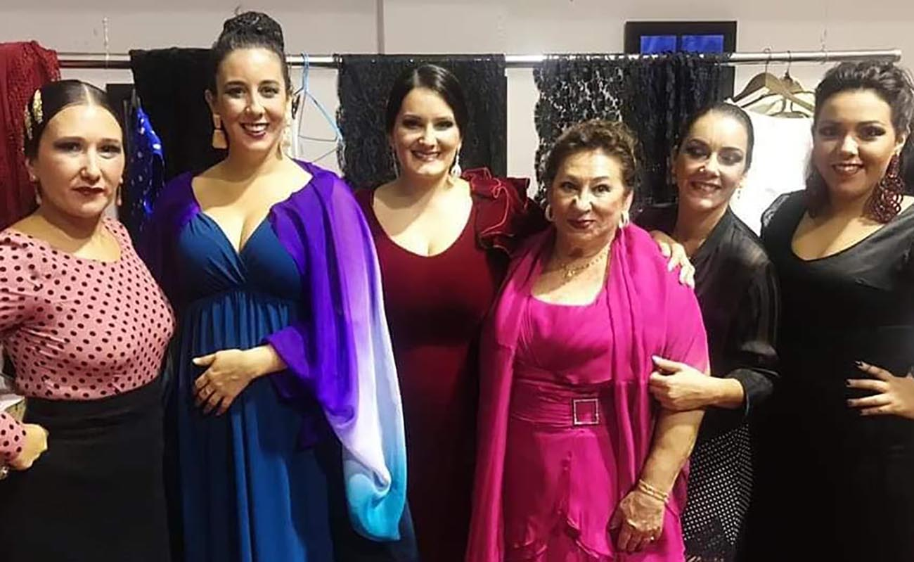 Flamencas de Sanlúcar de Barrameda. Foto gentileza de María Vargas.