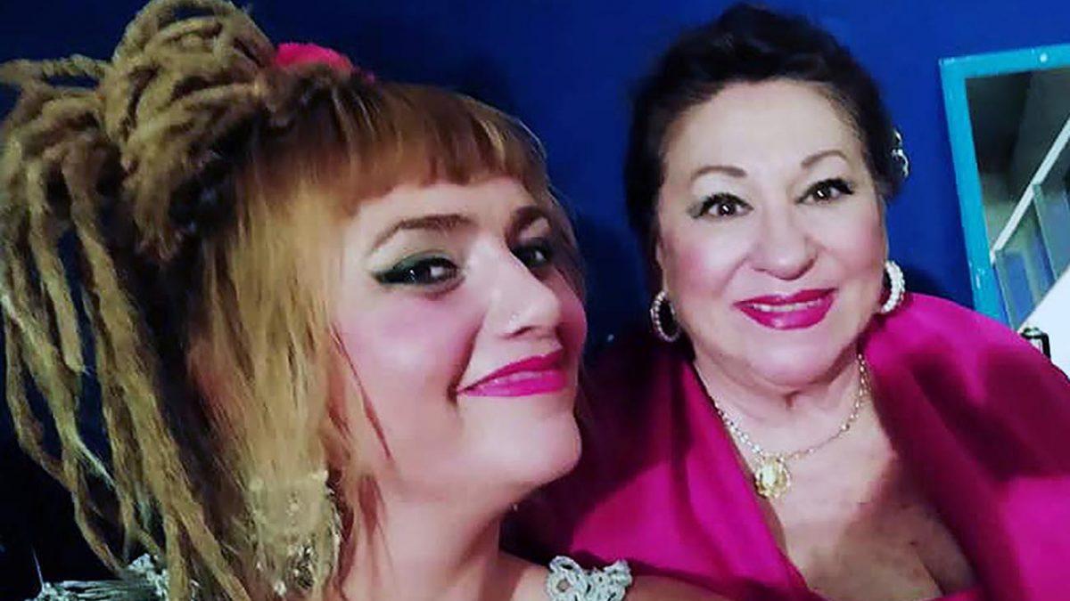 Naike Ponce y María Vargas. Foto gentileza de Naike Ponce.