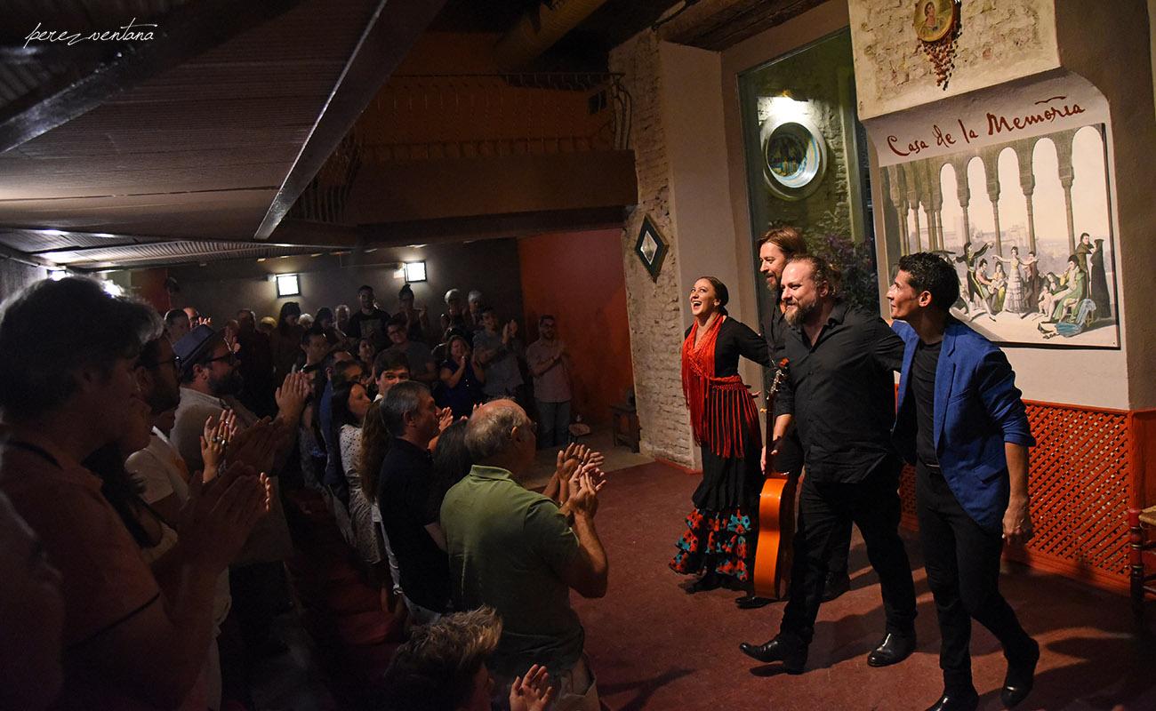Semblanza Flamenca. Casa de la Memoria, Sevilla. Foto: Quico Pérez-Ventana