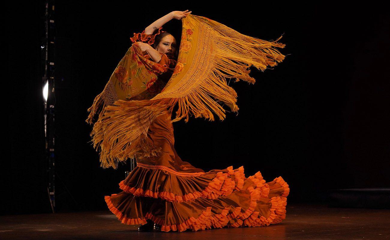 La bailaora chilena Florencia Oz, ganadora del XXII Concurso Nacional de Arte Flamenco de Córdoba. Foto: Concurso Nacional de Córdoba