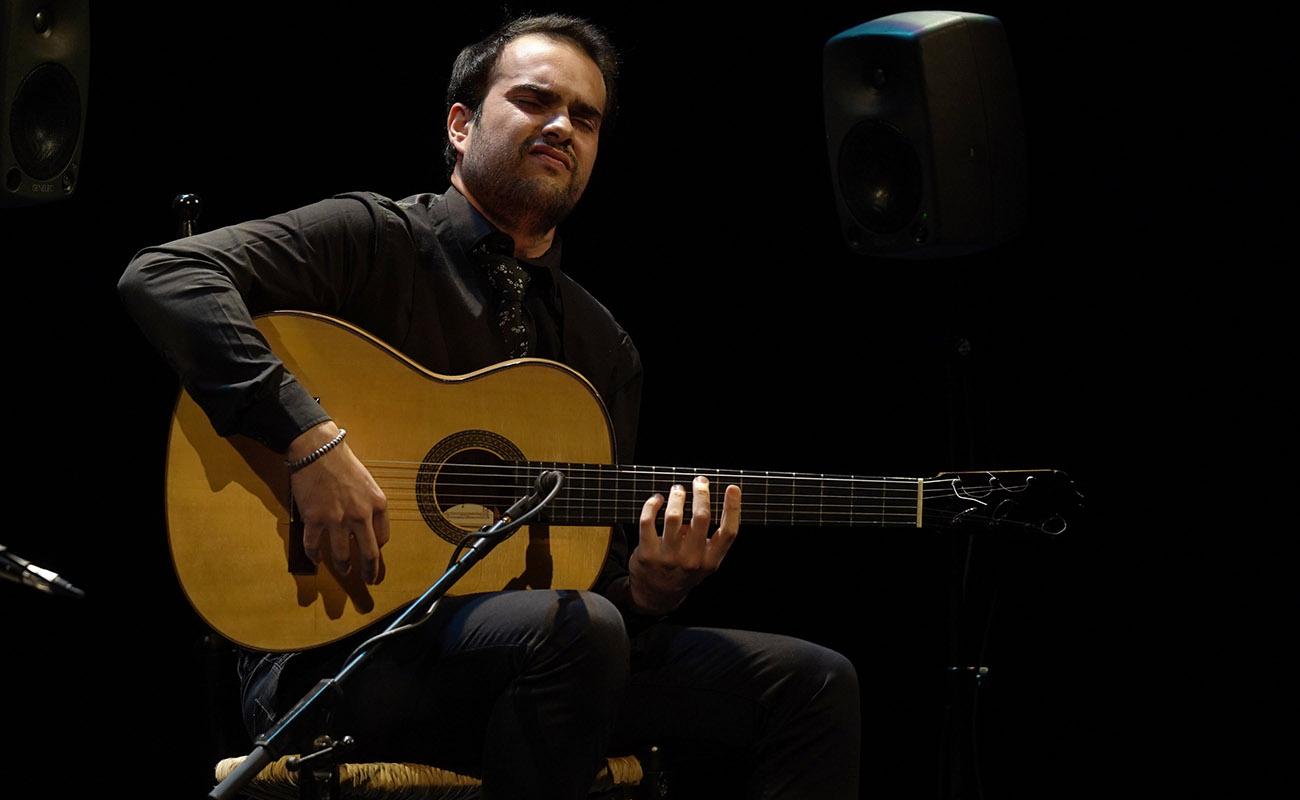 El guitarrista granadino José Fermín Fernández, ganador del XXII Concurso Nacional de Arte Flamenco de Córdoba. Foto: Concurso Nacional de Córdoba