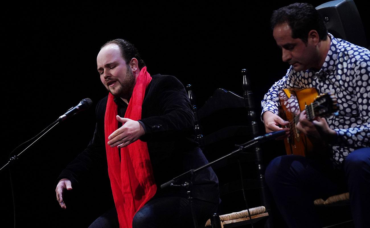 El cantaor extremeño Francisco Escudero El Perrete, ganador del XXII Concurso Nacional de Arte Flamenco de Córdoba. Foto: Concurso Nacional de Córdoba