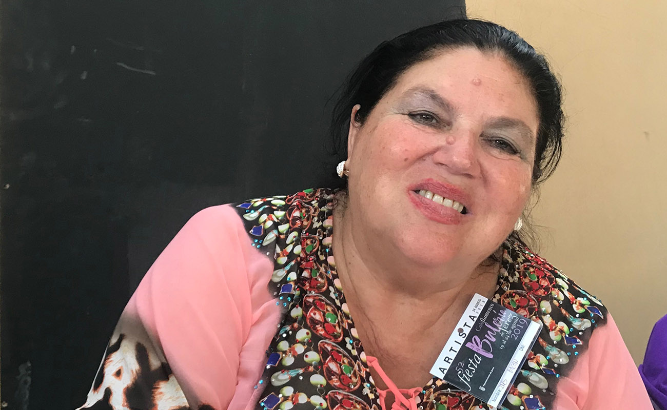 Inés Bacán. Foto: Juan Garrido