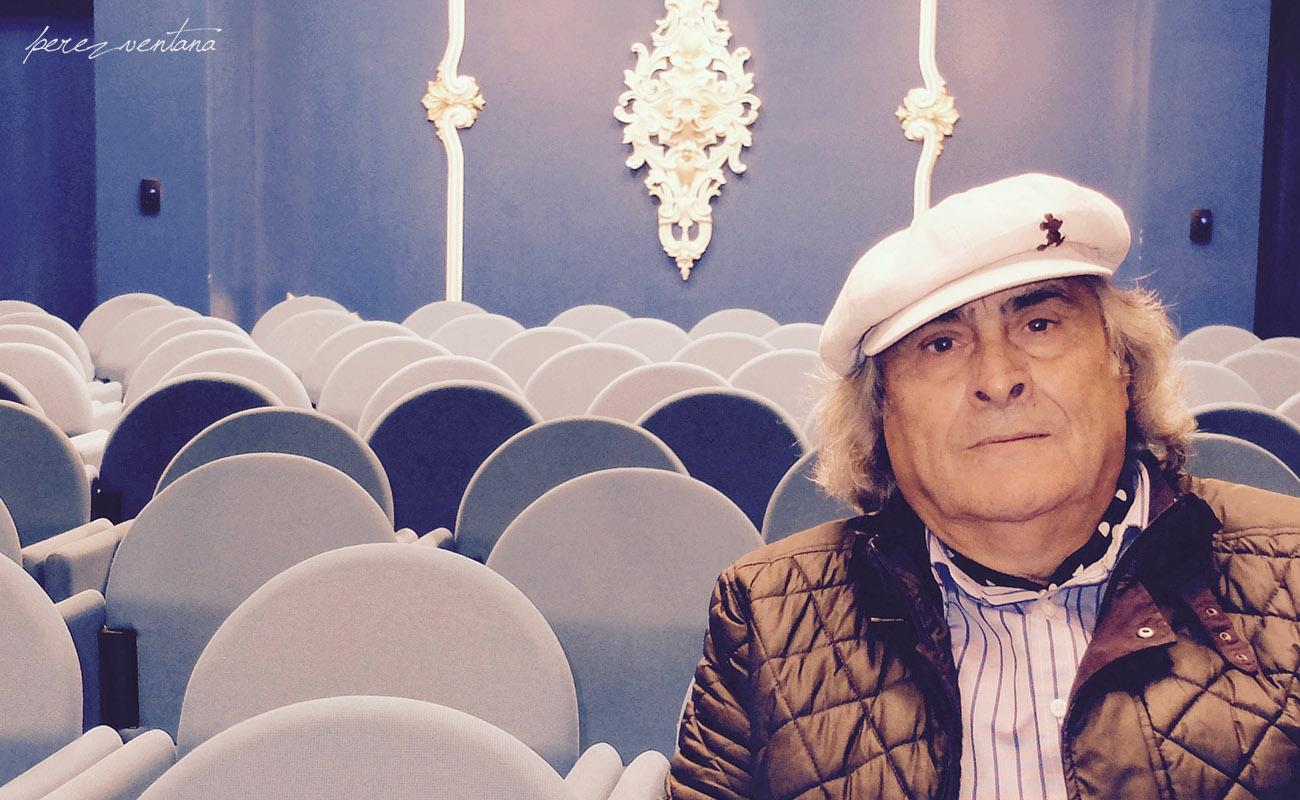 El cantaor sevillano José de la Tomasa, en la Fundación Cristina Heeren. Foto: perezventana
