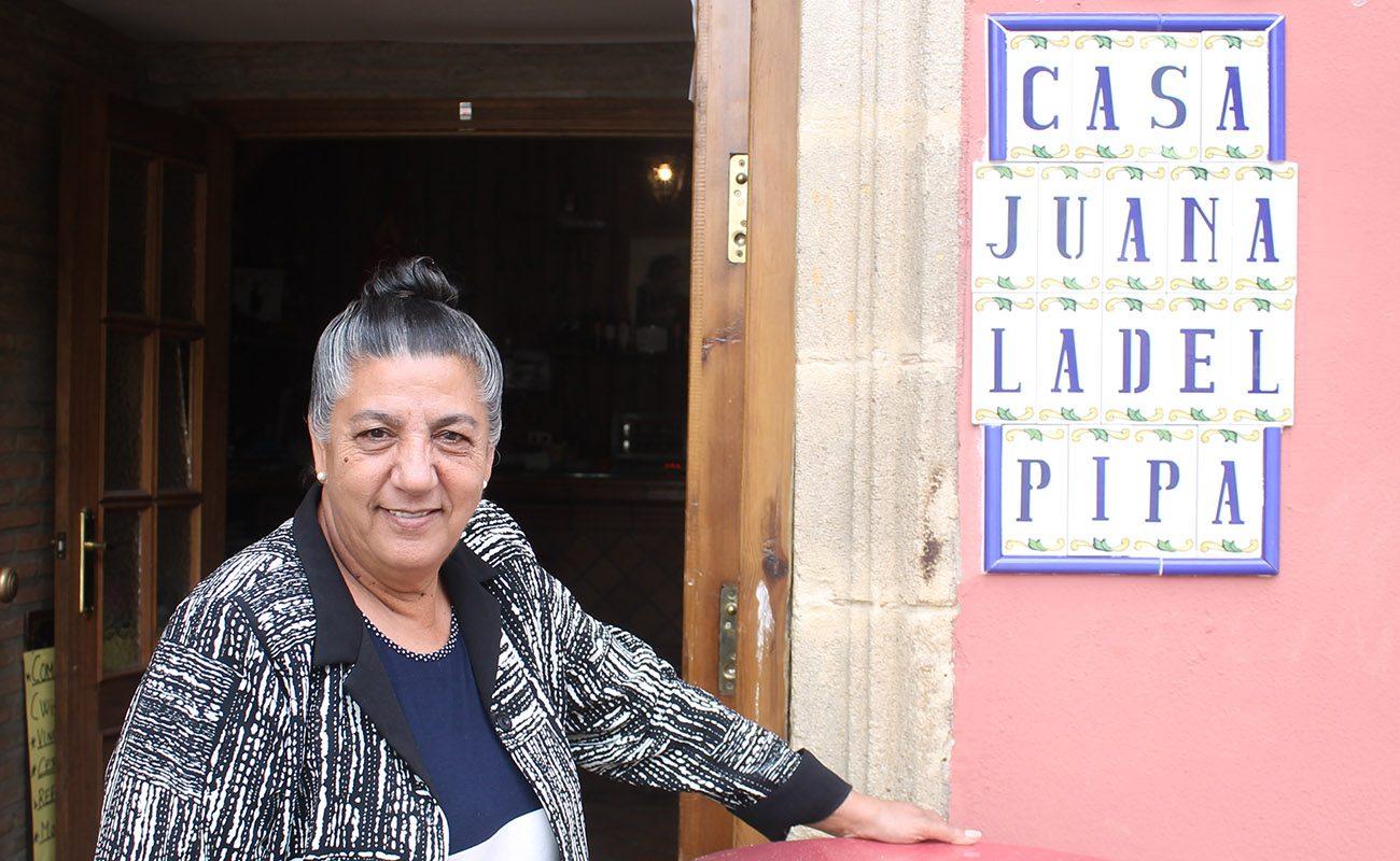 Juana la del Pipa. Foto: Juan Garrido