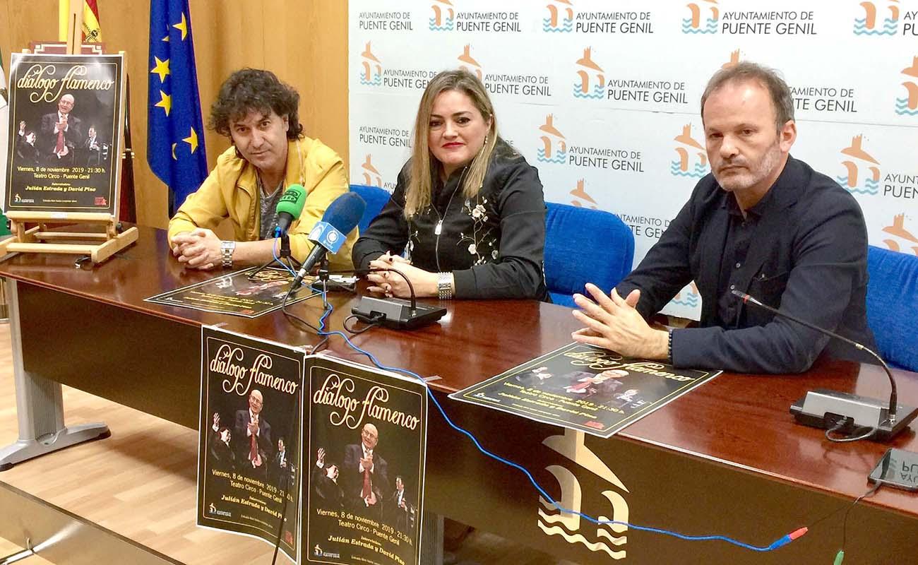Puente Genil acoge el 'Diálogo Flamenco' de Fosforito, David Pino y Julián Estrada - ExpoFlamenco