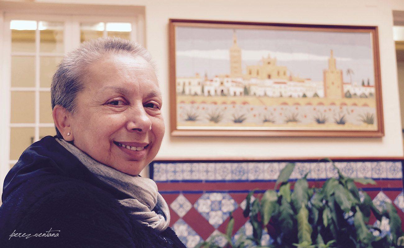 La bailaora Carmelilla Montoya, en Radio Sevilla. Foto: perezventana