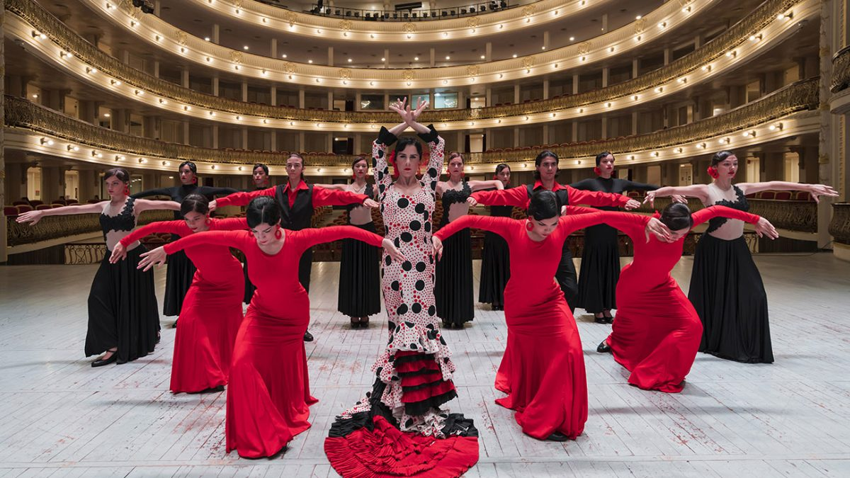 La bailarina cubana Irene Rodríguez, en el Gran Teatro de La Habana. Foto: Alfredo Canatello