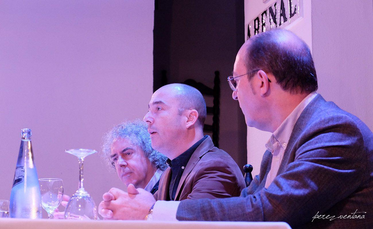 Presentación del libro «Tomás Pavón - Colección Carlos Martín Ballester». Tablao El Arenal, Sevilla. 30 nov 2019. Foto: perezventana