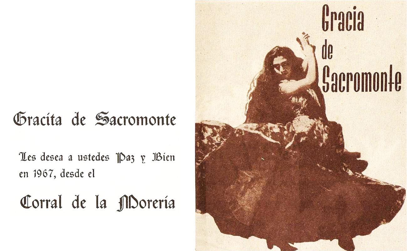 Gracita de Sacromonte. Foto: publicidad del Corral de la Morería