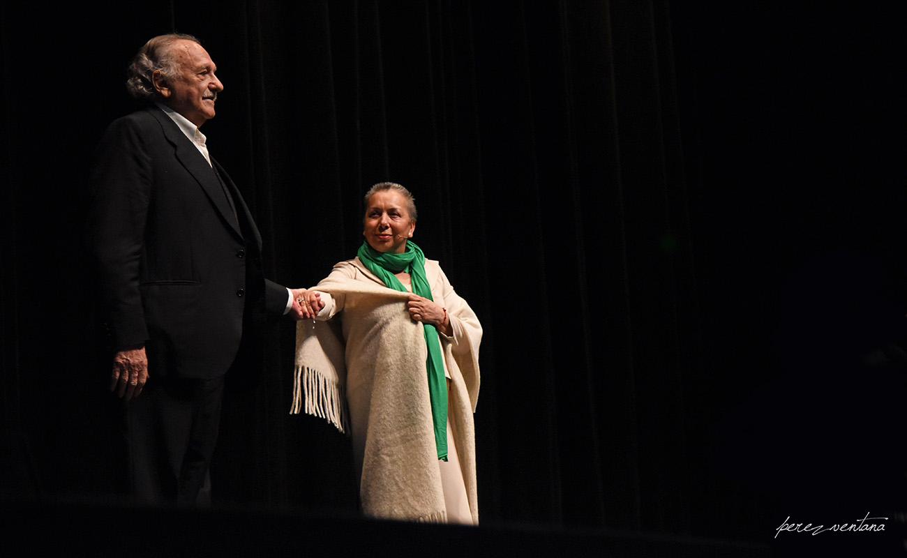 Carmelilla Montoya y Ricardo Pachón. Homenaje a Carmelilla Montoya. Fibes Sevilla, 5 diciembre 2019. Foto: perezventana
