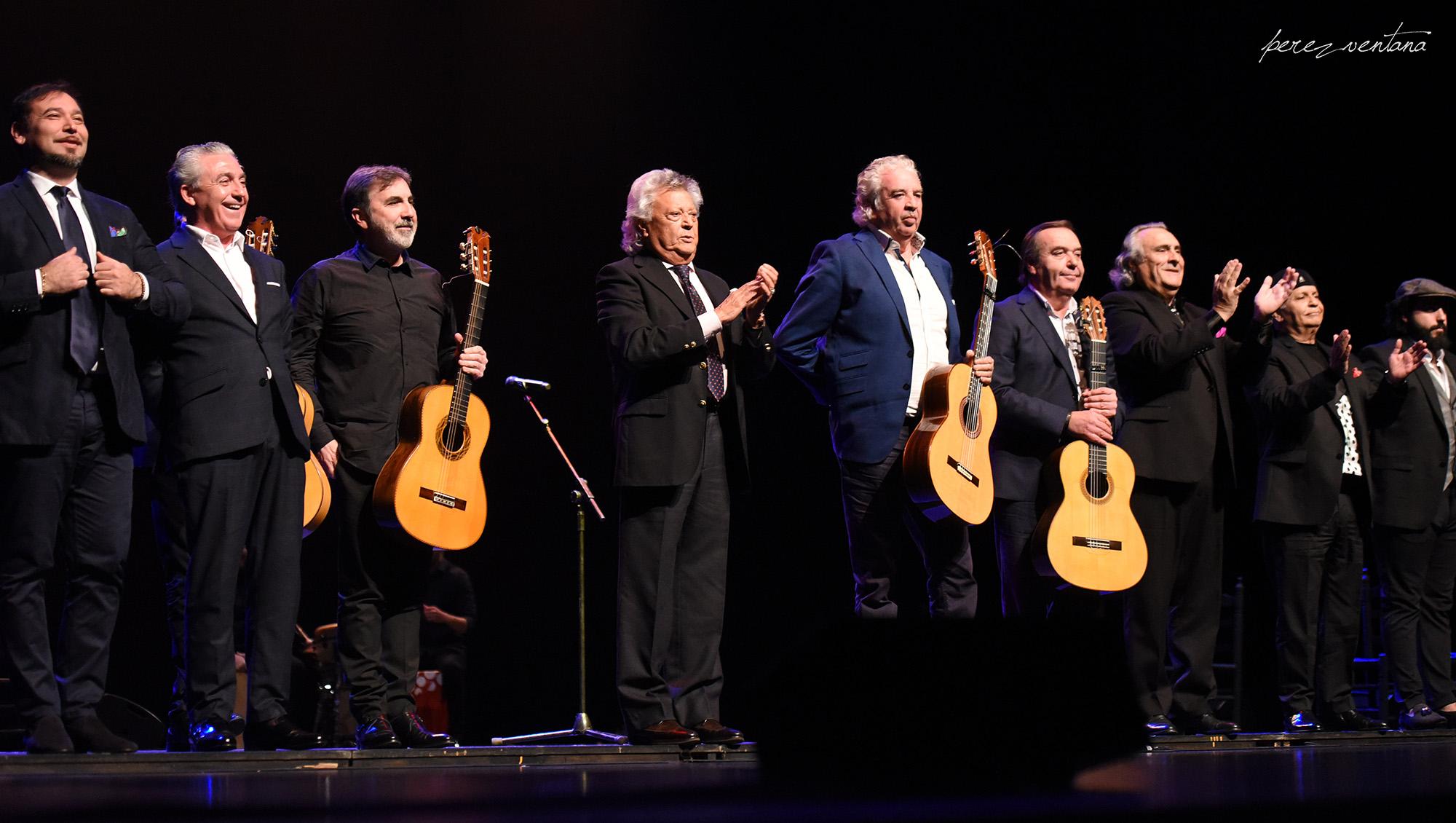 Los cantaores. Homenaje a Carmelilla Montoya. Fibes Sevilla, 5 diciembre 2019. Foto: perezventana