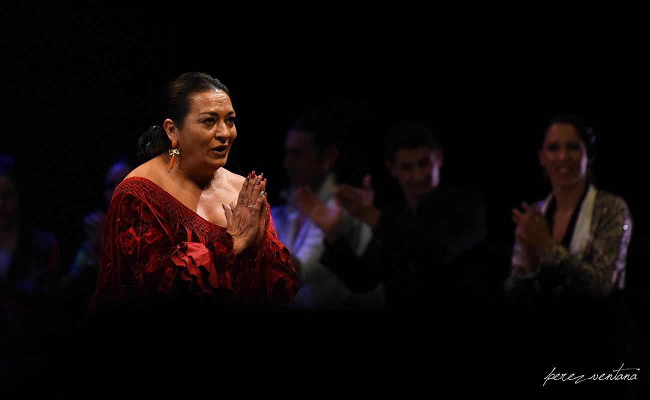 La Farruca. Homenaje a Carmelilla Montoya. Fibes Sevilla, 5 diciembre 2019. Foto: perezventana