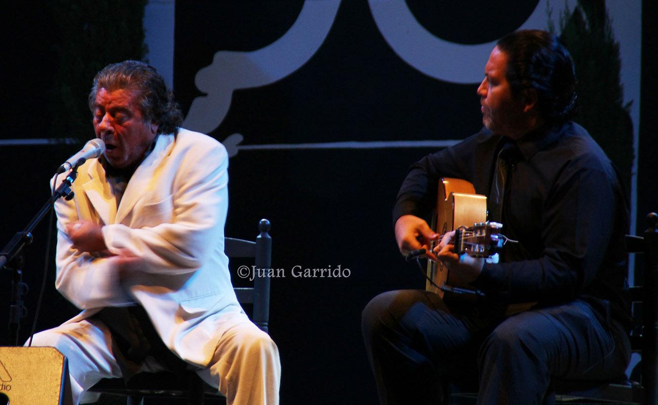 El cantaor Juan Moneo el Torta. Foto: Juan Garrido