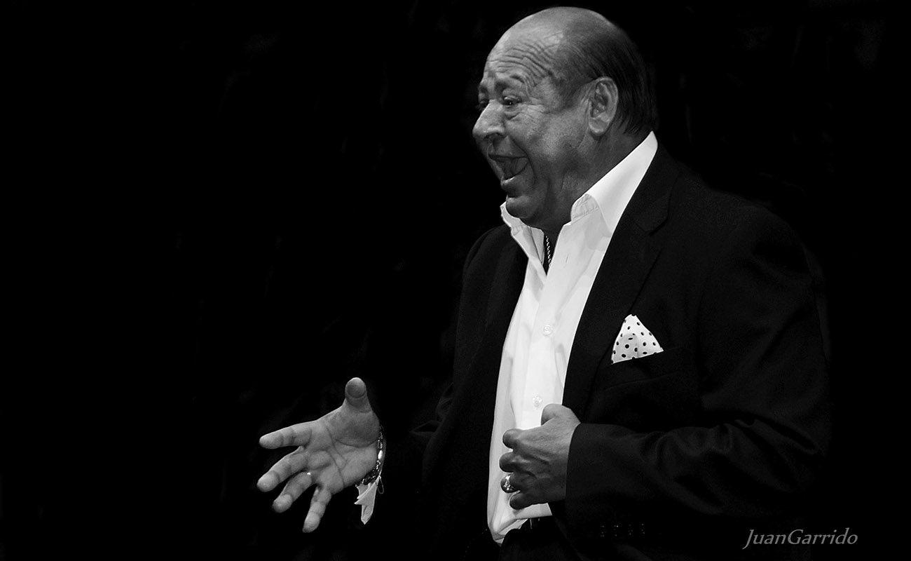 El cantaor Manuel Moneo. Foto: Juan Garrido