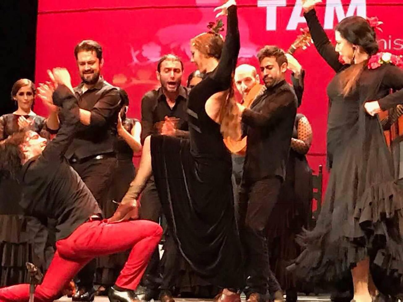 Fin de fiesta en la primera edición de Flamenco Tam Fest. Foto: Cecilia Vázquez