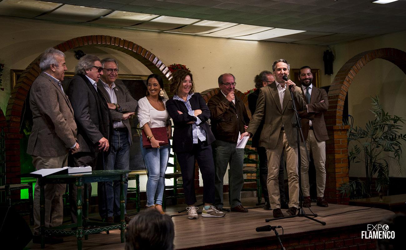 Homenaje a El Gómez de Jerez. Peña Los Cernícalos, Jerez. 22 febrero 2020. Foto: Guido Bartolotta