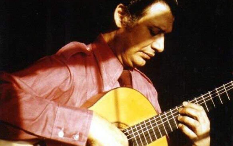 El guitarrista Mario Escudero. Foto: James Scalese