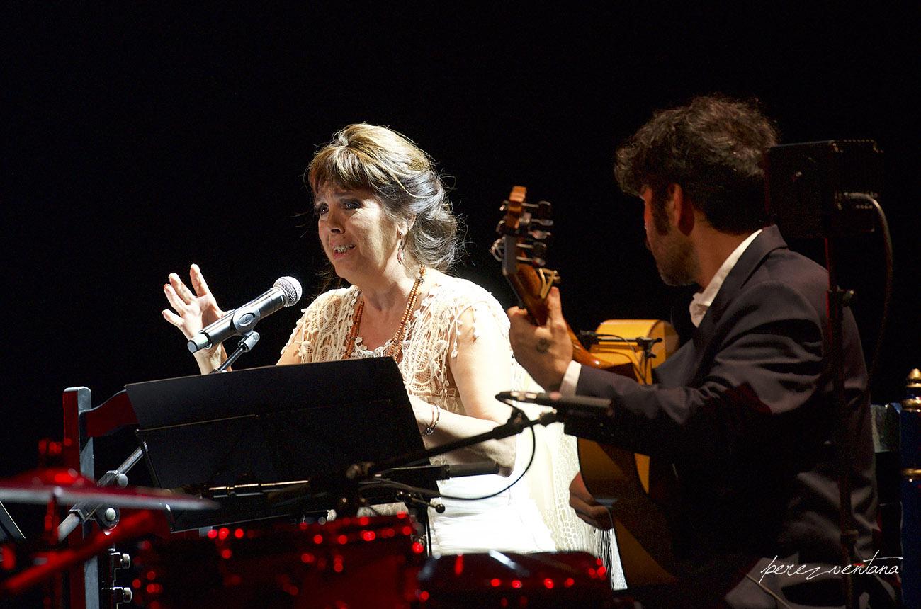 Homenaje a Lole Montoya. Cartuja Center, Sevilla. 8 marzo 2020. Foto: perezventana