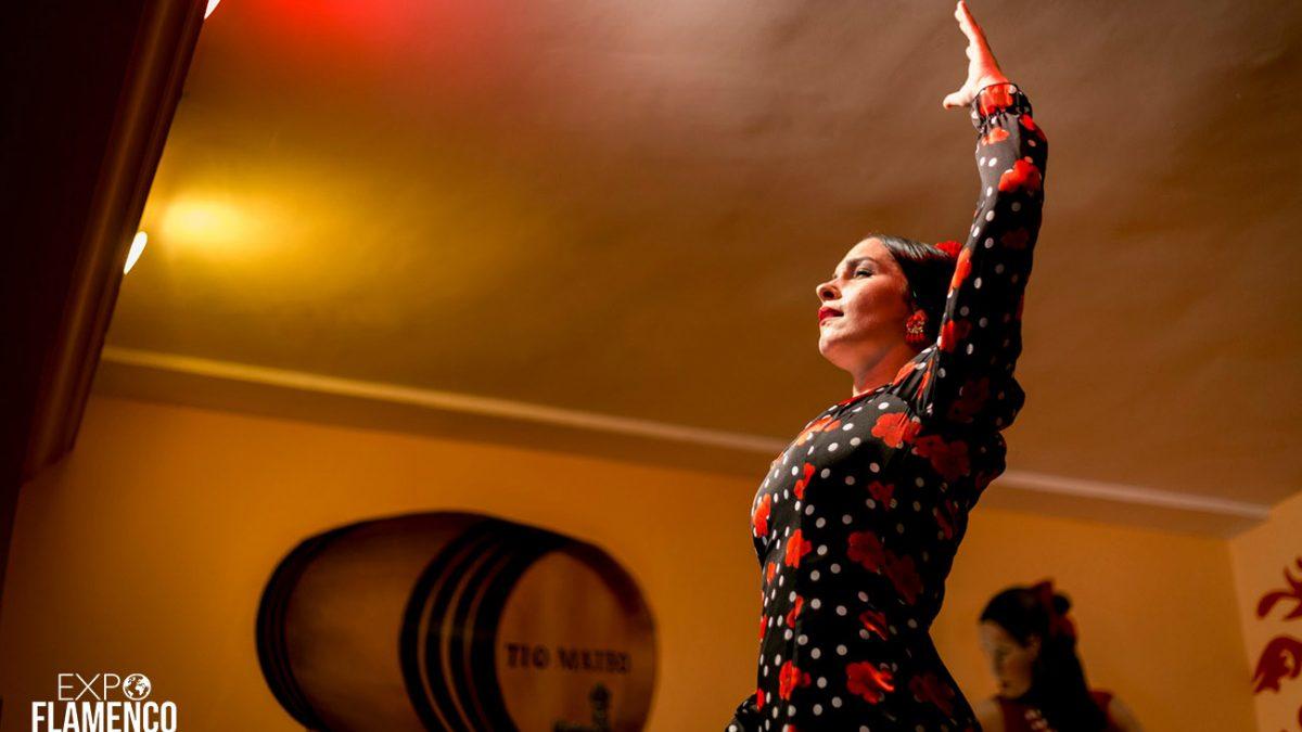 La Bailaora Marta de Trota. Tertulia Flamenca Pepe Alconchel, Jerez. Ciclo de Peña en Peña, Festival de Jerez. 1 marzo 2020. Foto: Guido Bartolotta