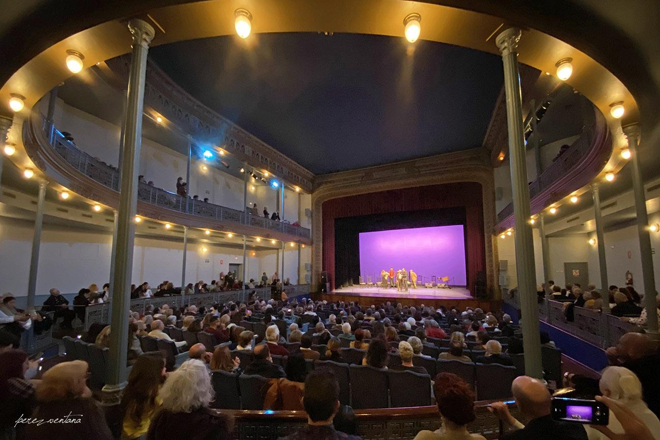 Teatro Enrique de la Cuadra. Homenaje a José Galván. Festival Tacón Flamenco de Utrera. 29 febrero 2020. Foto: perezventana
