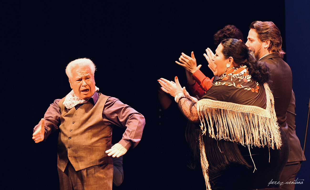 Homenaje a José Galván. Festival Tacón Flamenco de Utrera. 29 febrero 2020. Foto: perezventana