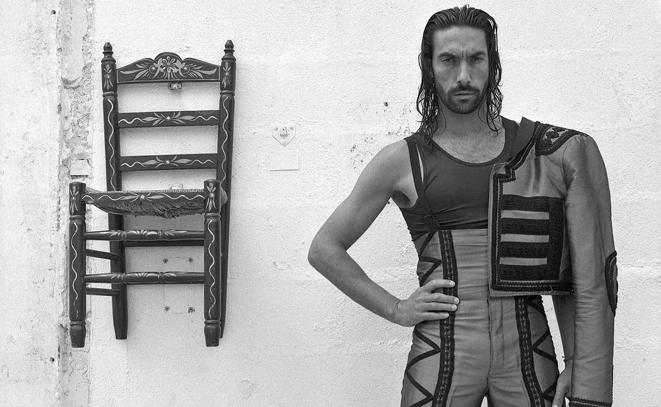 El bailaor gaditano Eduardo Guerrero. Foto: Pablo Padira