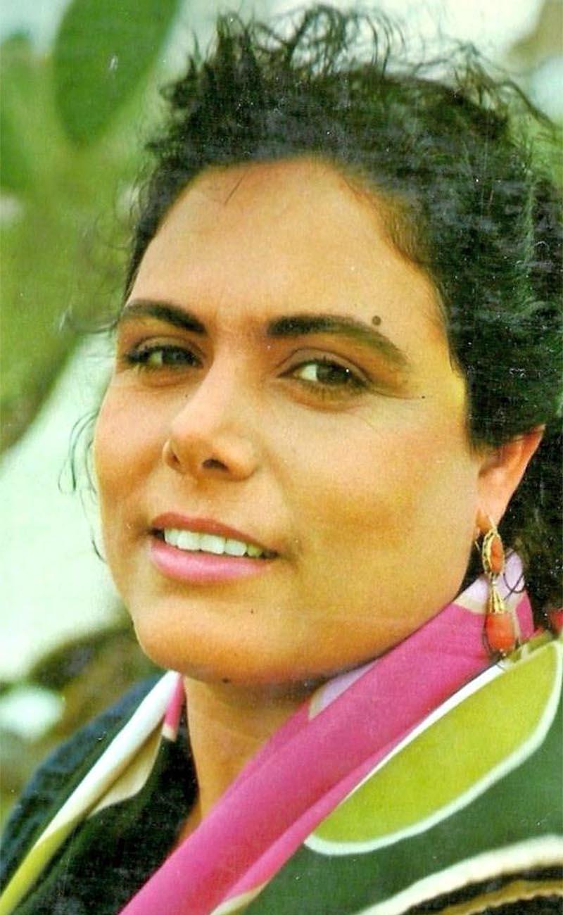 La cantaora Cristobalina Suárez. Foto: discográfica Acción