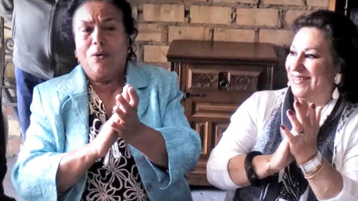 Cristobalina Suárez y María Vargas. Foto: Daniel Salguero 'La Fragua'.