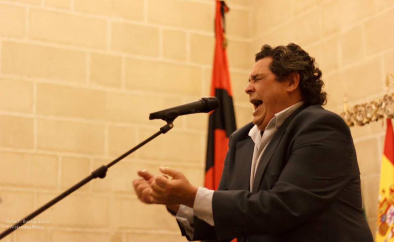 José Vargas el Mono. Peña Buena Gente, Jerez. Foto: Alejandro Pérez