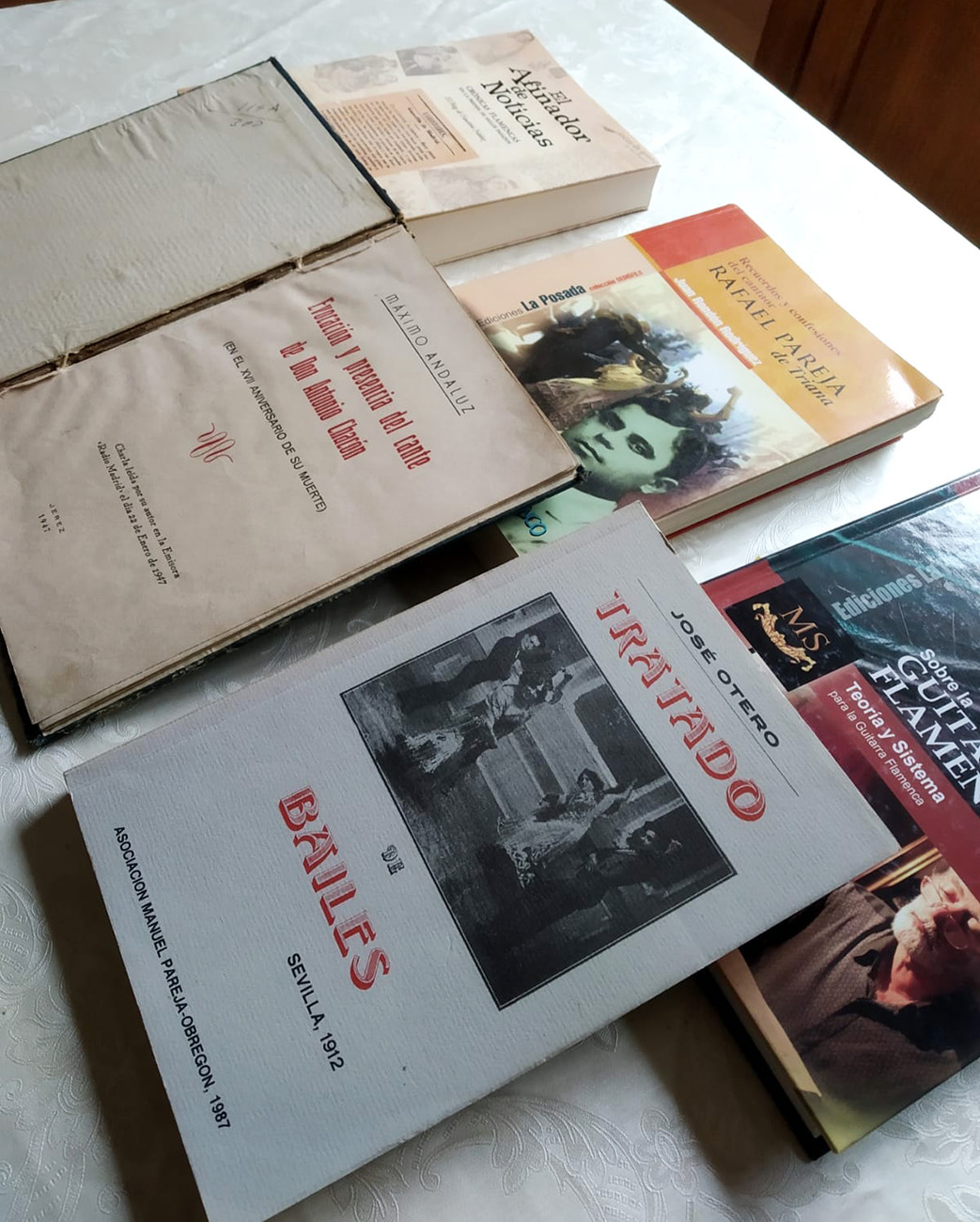 Lecturas flamencas de un confinado. Por Manuel Bohórquez.