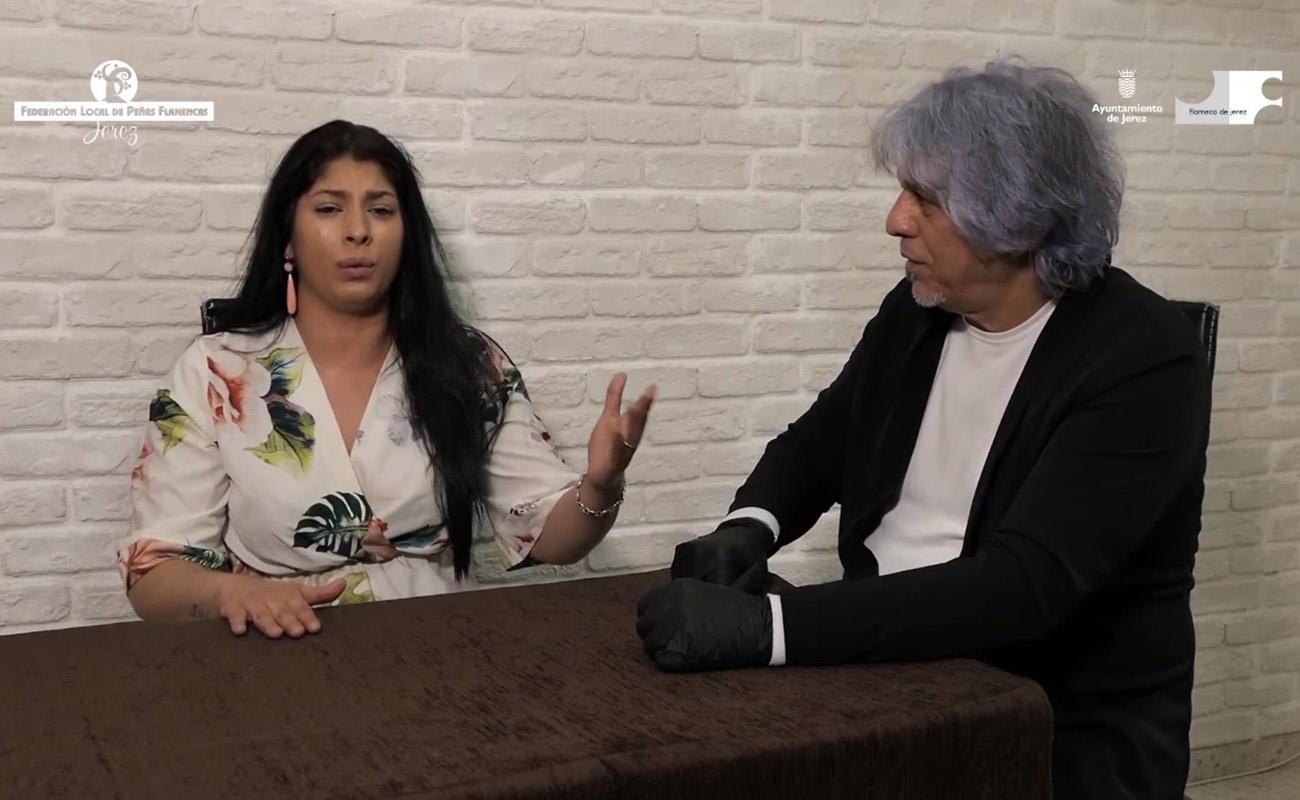 Antonio Malena y Saira Malena. Foto: Ayuntamiento de Jerez