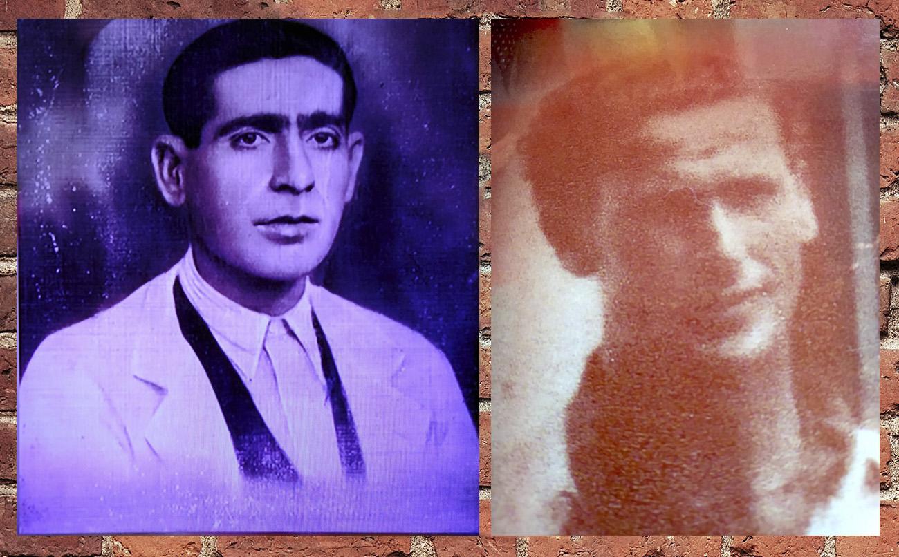 A la izquierda, José Loreto El Feongo. Foto: archivo de su familia. A la derecha, Enrique Guillén Cascajosa el Bizco Amate. Foto: Archivo Antonio Ortega.