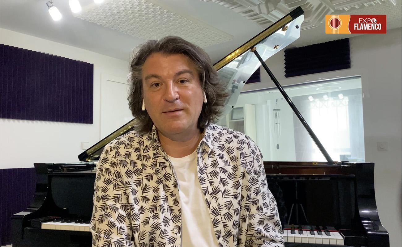 David Peña Dorantes presenta su sexto álbum, La roda del viento. Entrevista en ExpoFlamenco.
