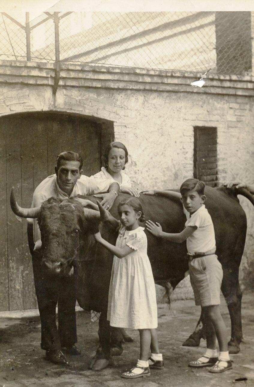 El torero Joaquín Rodríguez Ortega 'Cagancho'.