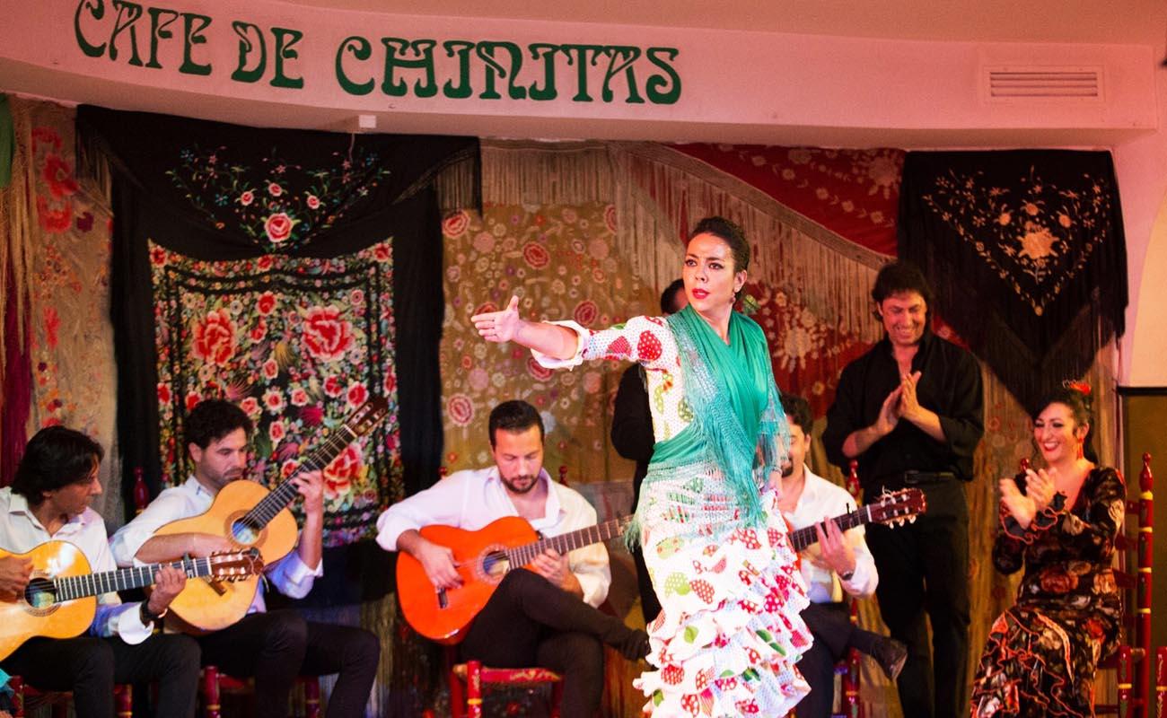 Café de Chinitas. Foto: web Café de Chinitas