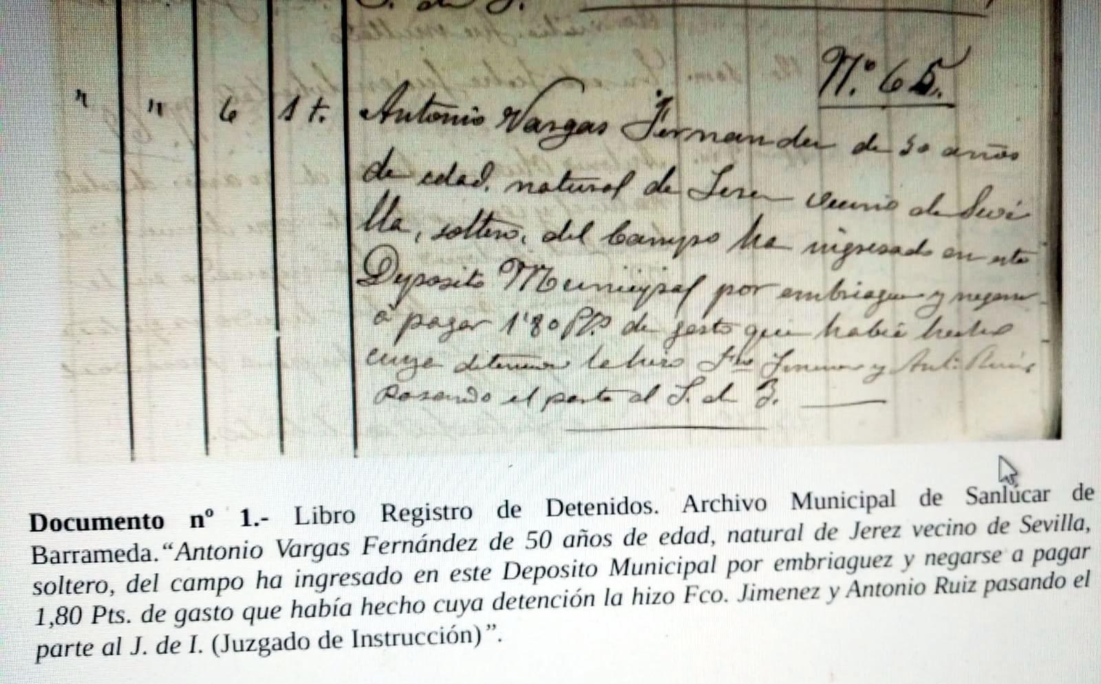 Detención Frijones Sanlúcar