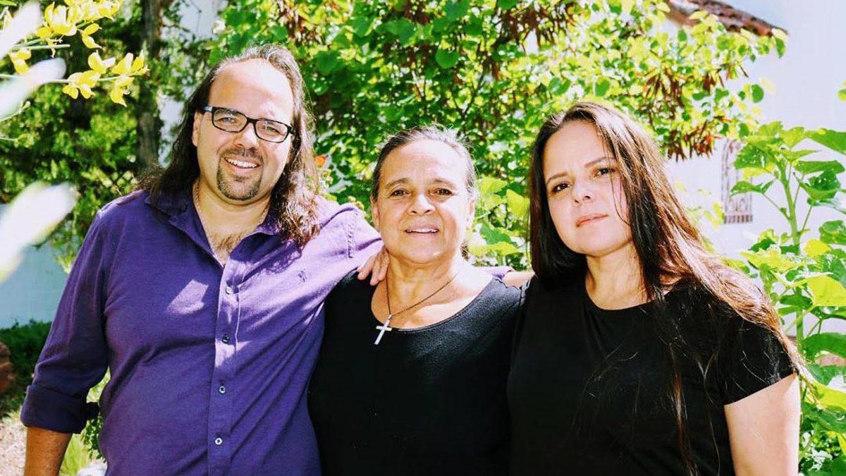 Joaquín, Eva y Marisol Encinias. Alburquerque Flamenco Festival, Nuevo México, Estados Unidos. Foto: Alejandrina Padilla