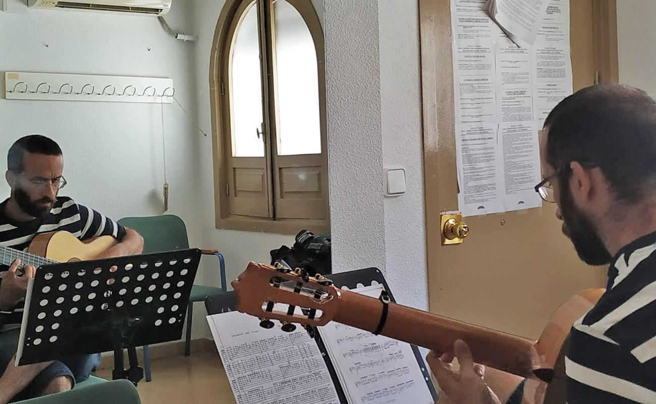 Rafael Hoces profesor guitarra flamenca Conservatorio Cordoba
