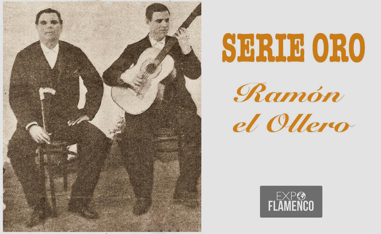 El cantaor Ramón el Ollero y el guitarrista Paco el Malagueño. Archivo Manuel Bohórquez.